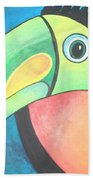 Bold Toucan Beach Towel