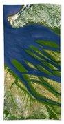 Bombetoka Bay Madagascar Beach Towel by Adam Romanowicz