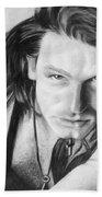 Bono Beach Towel by Janice Dunbar
