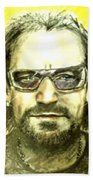Bono - U2 Beach Towel