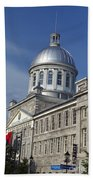 Bonsecours Market Montreal Beach Towel