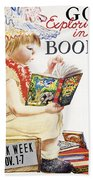 Book Week, 1961 Beach Towel