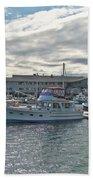Boothbay Harbor 0231 Beach Towel