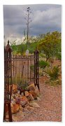 Boothill Cemetary Image Beach Towel