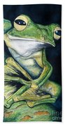 Boreal Flyer Tree Frog Beach Towel