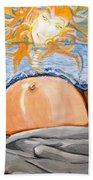 Rising Sun Beach Towel