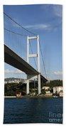 Bosphorus Bridge Istanbul Beach Towel