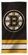 Boston Bruins Uniform Beach Towel
