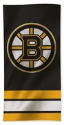 Boston Bruins Uniform Beach Sheet