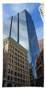 Boston Ma Architecture Beach Towel