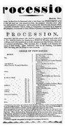 Boston Procession, 1789 Beach Sheet