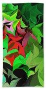 Botanical Fantasy 071613 Beach Towel