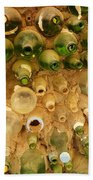 Bottles In The Wall Beach Towel