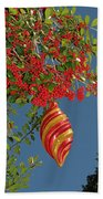 Boughs Of Holly Beach Towel