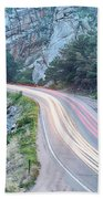 Boulder Canyon Drive And Commute Beach Towel
