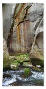 Boulders By The River 2 Beach Towel