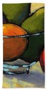 Bowl Of Fruit 5 Beach Towel