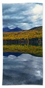 Bowman Lake Quietude Beach Towel