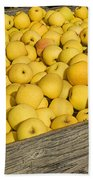 Box Of Golden Apples Beach Towel