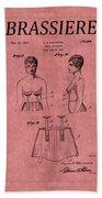 Bra Patent 17 Beach Towel