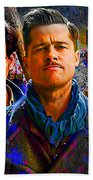 Brad Pitt Original Beach Towel