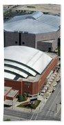Bradley Center And Us Cellular Arena Beach Towel