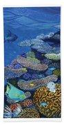 Brain Coral Beach Towel