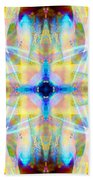 Brainbow Mandala Beach Towel