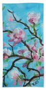 Branches In Bloom Beach Towel