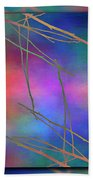 Branches In The Mist 15 Beach Towel