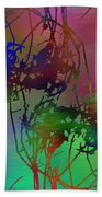 Branches In The Mist 47 Beach Towel