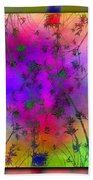 Branches In The Mist 5 Beach Towel