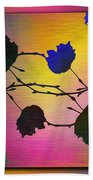 Branches In The Mist 71 Beach Towel