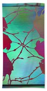 Branches In The Mist 72 Beach Towel