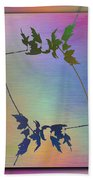Branches In The Mist 82 Beach Towel