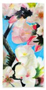 Branches Of Almond Tree Beach Towel