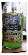 Brasserie Du Mont Blanc Beach Towel