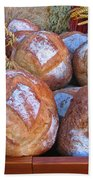 Bread At A French Market Beach Towel