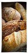 Bread Loaves Beach Towel by Elena Elisseeva