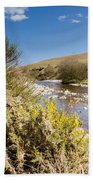 Breamish Valley In Spring Beach Towel