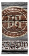 Breckenridge Brewery Beach Towel