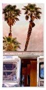 Breezy Palm Springs Beach Towel