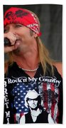 Bret Michaels In Philly Beach Towel