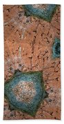 Brick Kaleidoscope Phone Case Beach Towel