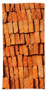 Brick Stack Beach Towel