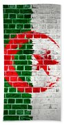 Brick Wall Algeria Beach Towel