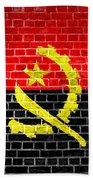 Brick Wall Angola Beach Towel