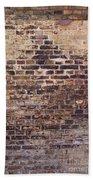 Brick Wall Beach Towel