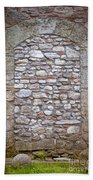 Bricked Up Doorway Beach Towel
