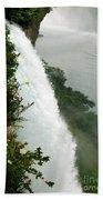 Bridal Vail Falls Beach Towel